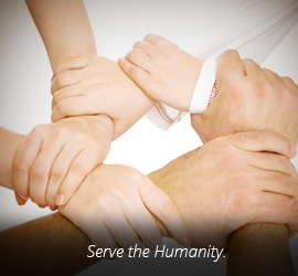 serve the humanity.